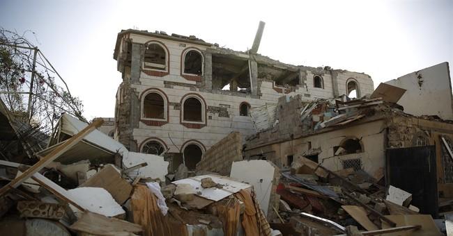Yemeni rebels bombed by Saudi-led coalition in key province