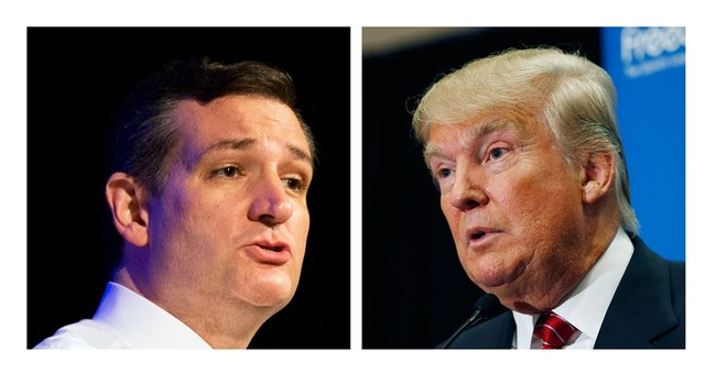 Ted Cruz cozies up to Donald Trump, aims for his supporters