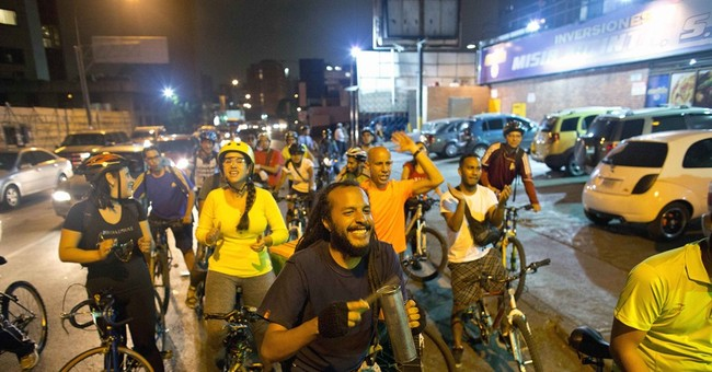 Car-crazed Caracas begins to yield space to bicycles