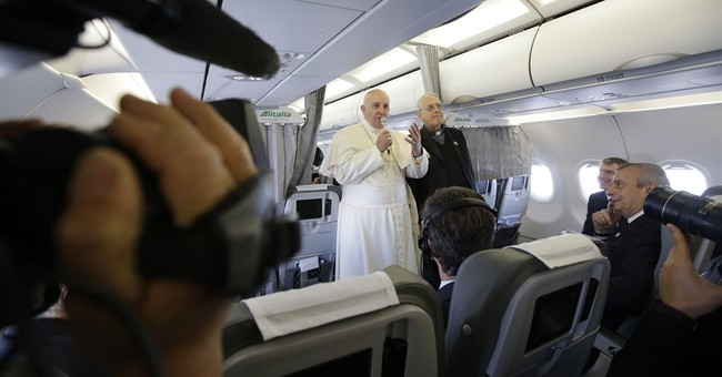 Reflections on Pope Francis from 35,000 feet
