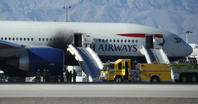 Vegas plane fire passengers escaped with lives _ and bags
