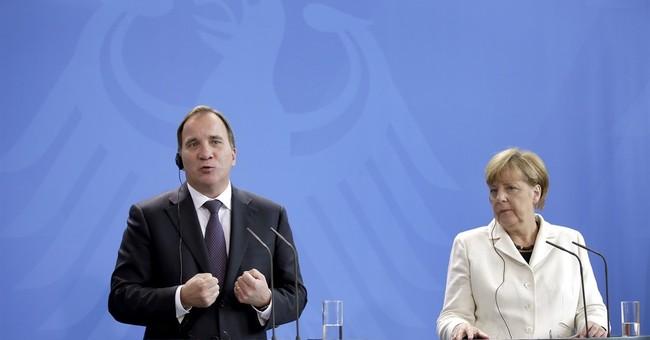 Germany, Sweden press demand for open-ended refugee quotas