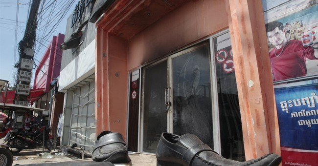 Fire at Cambodia nightclub kills 5 women