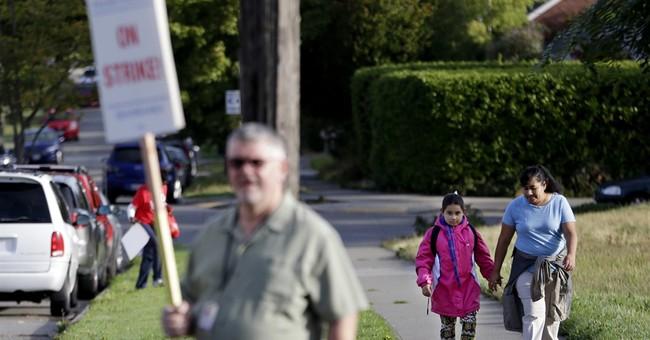 Seattle teacher strike keeps kids home on 1st day of school