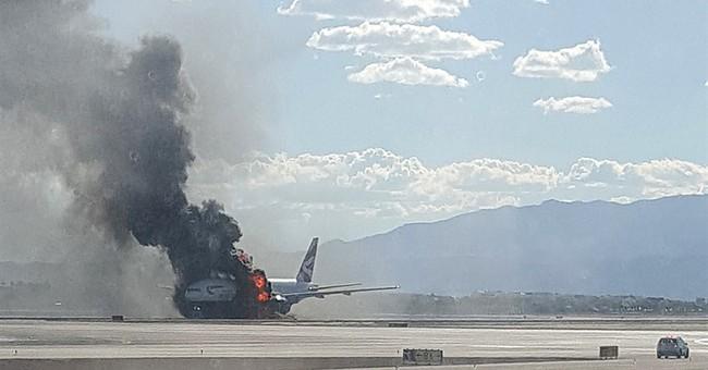 Investigators in Vegas comb through British Airways plane
