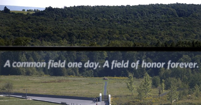 Correction: Flight 93-Memorial story