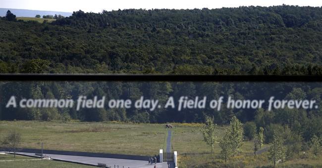 Correction: Flight 93-Memorial story