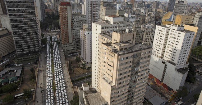 Sao Paulo city council votes to prohibit Uber amid protest