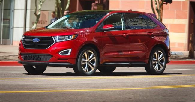 Ford Edge SUV gets first big overhaul, now bigger, sleeker