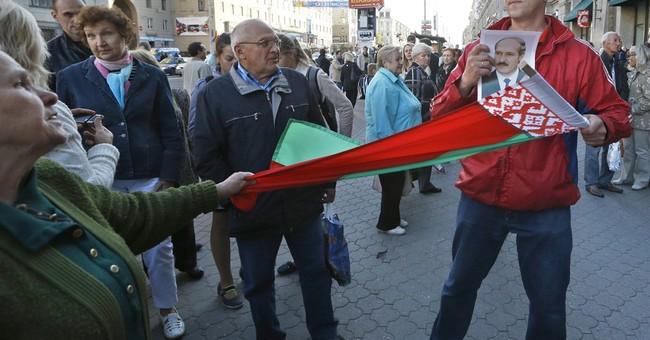 Belarusian demonstrators call for election boycott