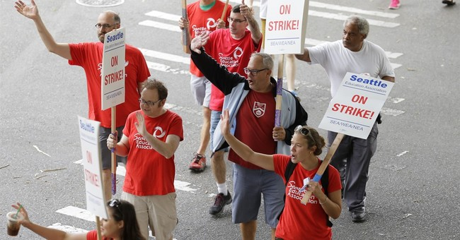 Seattle teachers to stay off picket line on 9/11 anniversary
