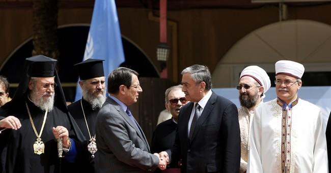 Cyprus' Christian, Muslim leaders offer peace talks support