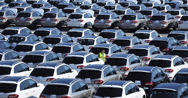 China auto sales shrink again in August