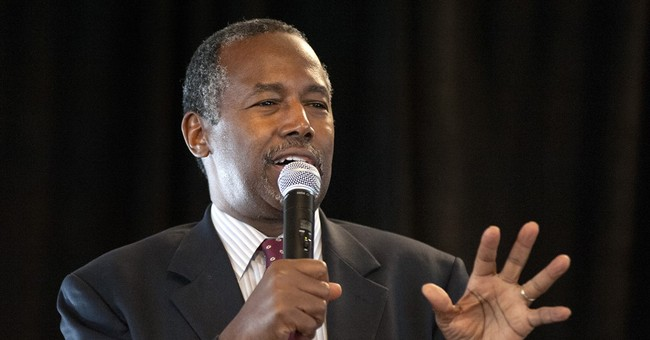 Carson after Ferguson tour: Nation should de-emphasize race