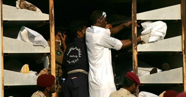 Glance at major hajj-related incidents in Saudi Arabia