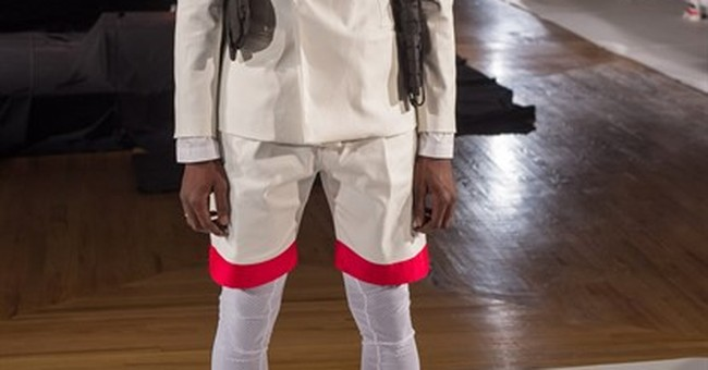 Fashion Week show moves crowd with police brutality focus