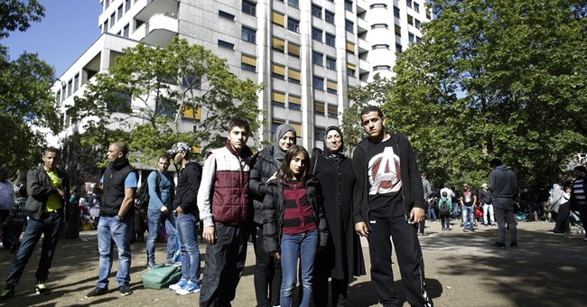 Damascus to Berlin; a Syrian family's escape to new life