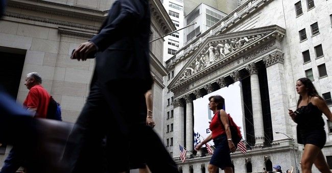 After a wobble, US stocks manage slight gains