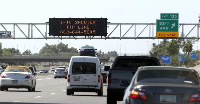 3 teen arrests not linked to Phoenix freeway shootings