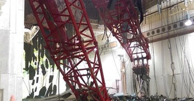 Saudis: 107 dead in crane collapse at Mecca's Grand Mosque