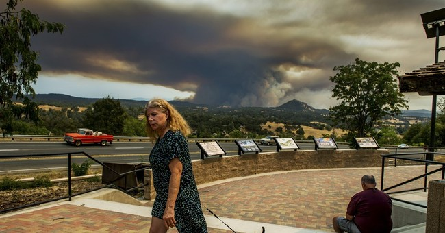 California town told to prepare to leave as wildfire surges