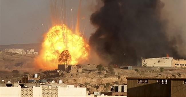 Saudi-led airstrikes and rebel shelling kills 35 in Yemen