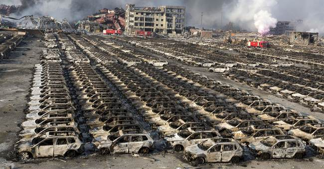 Final death toll set at 173 in China warehouse explosion