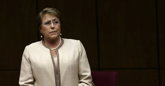 Chile's Bachelet: 'fairy godmother' to unpopular leader