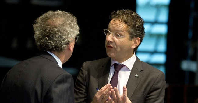 Eurogroup chief rules out Greek debt deal renegotiation