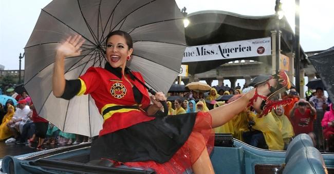 Miss America shoe parade hits the Atlantic City Boardwalk