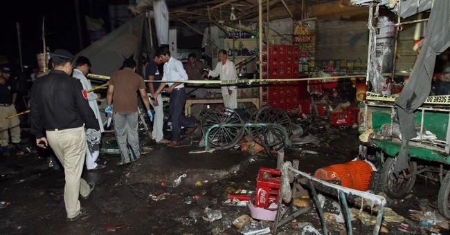 9 dead in blast outside bus terminal in central Pakistan