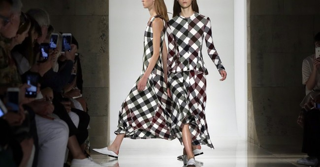 School uniforms at Hood by Air, SJP at Tracey Reese