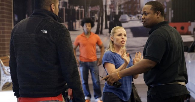 Actors, mentally ill aid NYC police training meant to calm
