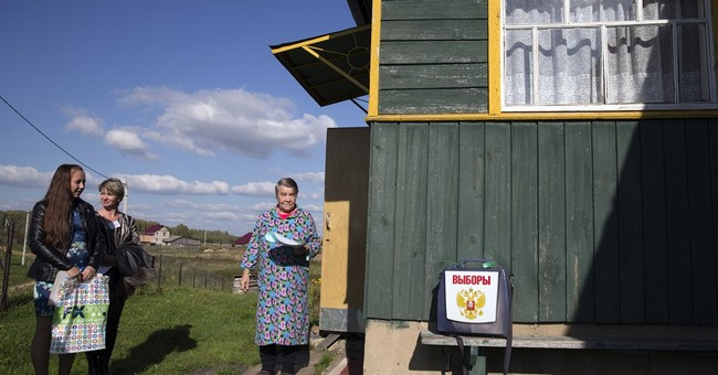 Russians vote in local elections, opposition mostly shut out