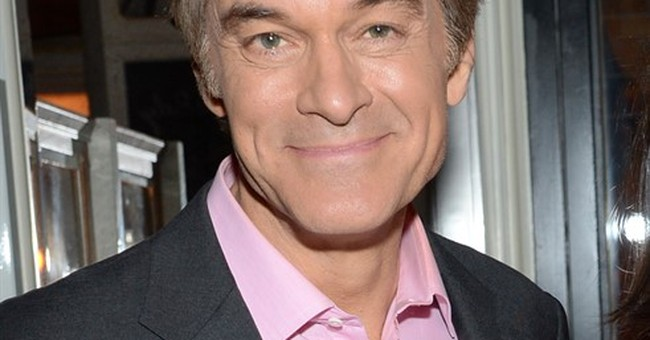 Television Dr. Mehmet Oz returning with 'heal thyself' goal