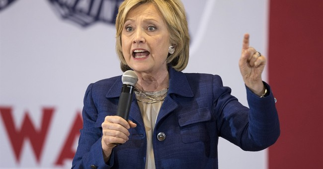 In Iowa, Clinton vows to fight campus sexual assault
