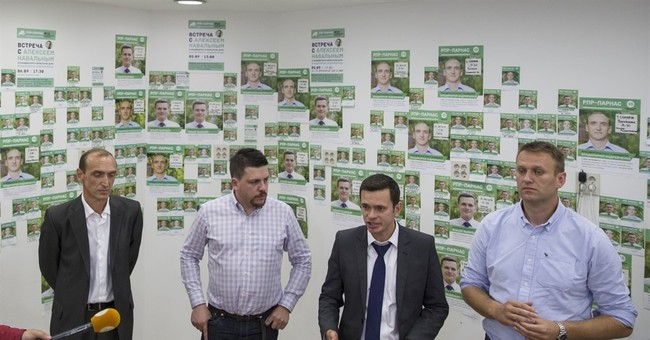 Ruling party candidates win all slots in Russian election