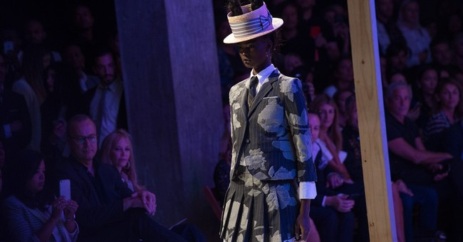 Thom Browne creates an exotic world out of a school uniform