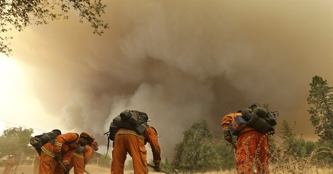 A snapshot of California's explosive wildfires
