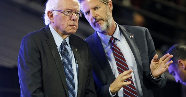 Sanders courts Christian conservative students