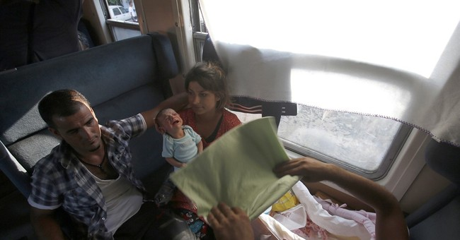 Refugee women give birth on way to Europe, even on boats
