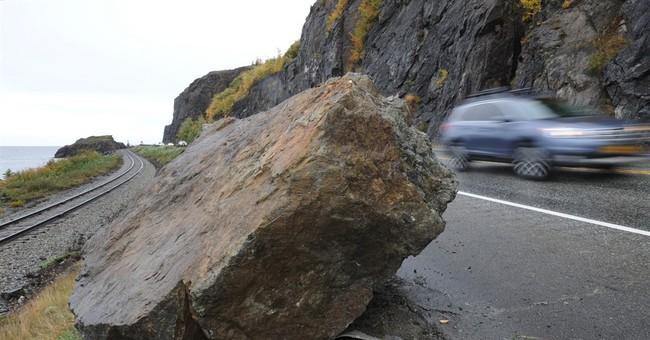 Alaska's scenic Seward Highway reopens after rockslide