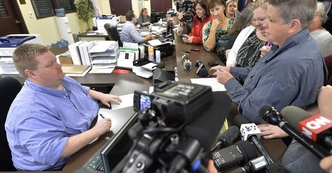 Court again denies Kim Davis' bid to delay marriage licenses
