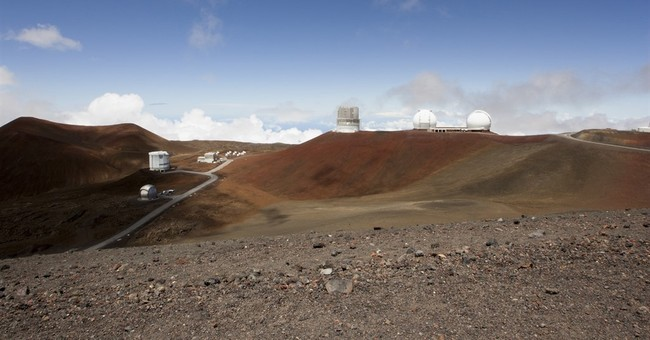 Mauna Kea telescope protesters say stone altar was destroyed
