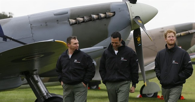 Prince Harry marks 31st birthday honoring WWII pilots