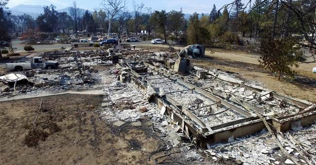 Man missing in Northern California fire; burned car found