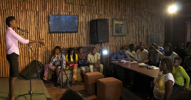 Nigeria's slam poets rail at corruption, call for change