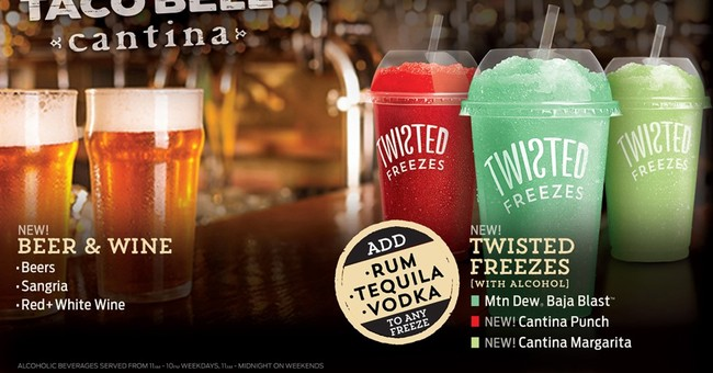 Wine and tapas? Taco Bell to serve them in Chicago