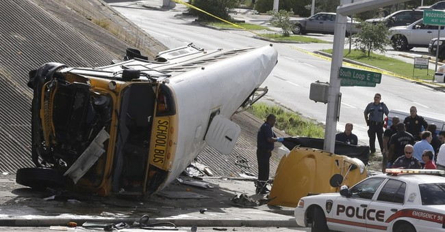 Houston bus driver thought she was going to die in wreck