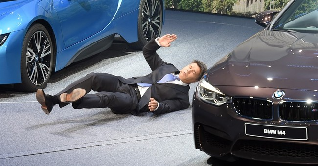 BMW boss doing well again after auto show collapse